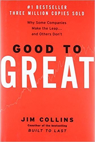 Good to Great – by Jim Collins